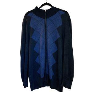 Like New Banana Republic Zip Up Sweater size XL